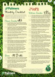 Monthly Gardening Guide