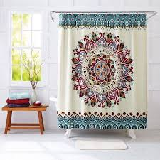 Teal And Brown Curtains Walmart by Best 25 Shower Curtains Walmart Ideas On Pinterest White Flat