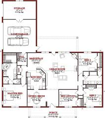 Ceiling Joist Span Tables by Traditional Style House Plan 4 Beds 2 00 Baths 2523 Sq Ft Plan