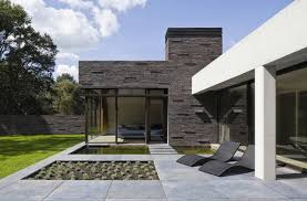 Modern House Fronts by Exteriors Adorable Modern House With Two Stories And Brick