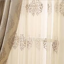 room blackout jacquard light brown curtains no include valance