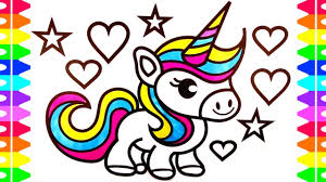 Maxresdefault Easy Cute Unicorn Coloring Pages
