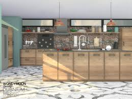 Dubnium Kitchen By Wondymoon From TSR For The Sims 4