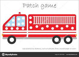 100 Fire Truck For Toddlers Education Patch Game Children Develop Motor Skills Use