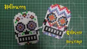 Halloween Hama Bead Patterns by Calavera Mexicana