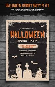 Free Halloween Flyer Templates by Typography Halloween Flyer Halloween Inspiration Pinterest