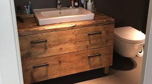 neue seite badezimmer altholz holz