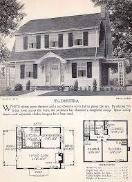 The Retro Home Plans by 103 Best House Plans Images On Vintage Houses Kit
