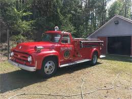 100 Ford Fire Truck 1953 For Sale ClassicCarscom CC1185754
