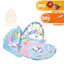 Baby Activity Play Mat Baby Gym Educational Fitness Frame Multi