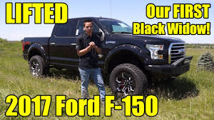 LIFTED 2017 Ford F-150! Check Out Our First Ever F-150 Black Widow ...