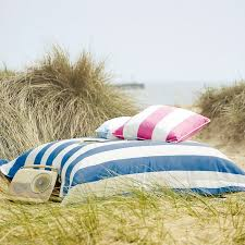 Pure Cotton Outdoor Waterproof Large Cushion Covers With Hidden Zip Uk