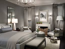 Bedroom With Gray Wall Paint Stunning Of Earth Tone Decorating Ideas For Home Interior Design