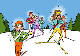 Livre De Coloriage Garçon Ski Cliparts Vectoriels Et Plus Dimages