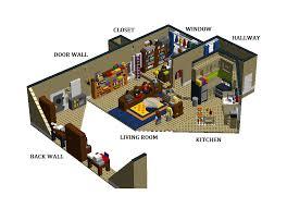 lego ideas the big bang theory sheldon and leonard s apartment