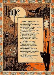 Poems About Halloween That Rhymes by Vintage Halloween Poem I U0027ve Never Seen One Before Halloween
