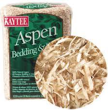 types of aspen bedding