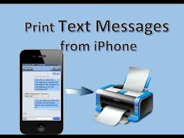 Free Way to Print Text Messages from iPhone 7 6 6S 6S Plus 5S