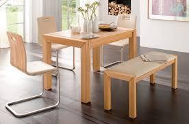 essgruppe essbankgruppe küche bank stühle tisch kernbuche massiv geölt lanatura
