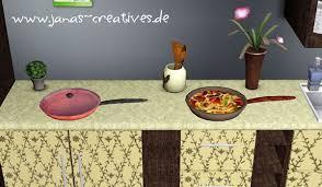 Sims 3 Pan Kitchen Decor