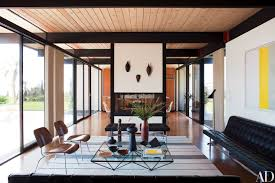 100 Midcentury Modern Architecture 11 Living Rooms Architectural Digest