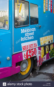 London , Southbank , Mexican Street Kitchen Citroen Truck Van Cafe ...