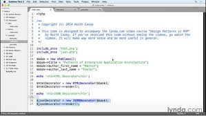 Decorator Pattern C Real World Example by The Decorator Pattern In Action