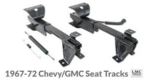 Bench Seat Tracks For 1969-72 Chevy & GMC Trucks - LMC Truck ... Face Off Part 1 Front Clip Swap On A 2006 Gmc Sierra Photo Revamping 1985 C10 Silverado Interior With Lmc Truck Hot Rod End Dressup Kit Grille Lights For Chevrolet Chevygmc Dash Installation Kevin Tetz Youtube 2004 Novakane Truckin Magazine Hid Headlights The 1947 Present Message David Kiger His 86 Chevy Lmc Truck Trucks And Dashboard Pad Components 197380 Pickup 1973 S10 Mini Shortbed Cversion S7 Ep 31 Starlite Bumpers Se Dress Up Rectangular Single