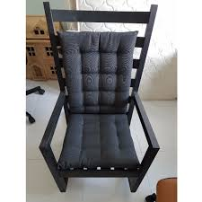 Ikea Varmdo Rocking Chair - Black (giving Black & Blue ... Isla Wingback Rocking Chair Taupe Black Legs Safavieh Outdoor Living Vernon White Rar Eames Colby Avalanche Patio Faux Wood Rapson Amazoncom Adults For Heavy People Clips Monet Rattan Rocking Chair Base Pp Ginger