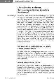 Brief Zwei Personen Anrede Im Word Brief Die Anschrift Und Den