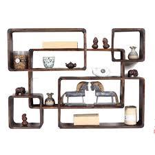 wandregal massivholz multi schatz kabinett antike frame