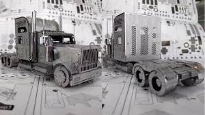 3D Metal Model Build - Optimus Prime (in Truck Form) - Picture ...
