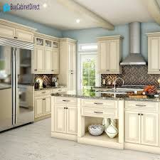 Cream Kitchen Cabinets Design Inspiration With Black