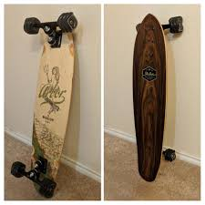 100 Gullwing Sidewinder Trucks I Finally Completed My New Setup 35in Arbor Deck Bones Reds