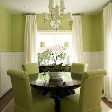 Green Decorating Ideas Dining Room