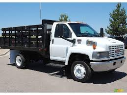 100 Gmc C4500 Truck 2003 Summit White GMC C Series TopKick Regular Cab Chassis