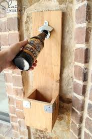 Wood Projects Gifts Ideas by 25 Diy Gift Ideas For The Men On Your List Bottle Opener Scrap
