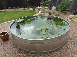 Aquascape Patio Pond Australia by A Pond In A Large Metal Tub Water Gardens Pinterest Metal