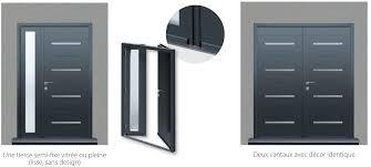 porte entree vantaux aluminium portabloc fabricant de portes d entrée d ouvrants