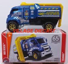 100 Police Truck Tab 2018 Matchbox Power Grabs 36 Xcanner BLUE METALLIC MBX POLICE
