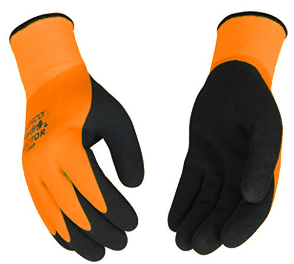 Kinco Hydroflector Double Thermal Double Latex Waterproof Orange Glove