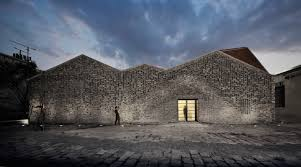 100 Gray Architects Robots Construct An Art Gallery In Shanghai From Recycled Gray Bricks