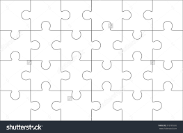 24 Piece Puzzle Template Choice Image Puzzles Games Free Powerpoint Jigsaw Templates Example