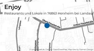 enjoy obere hauptstraße in herxheim bei landau pfalz