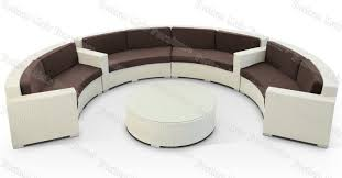 Semi Circular Patio Furniture by Sofas Center Curved Outdoor Furniture Sofa Semicle Ikea Table