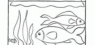 Best Coloring Pages Fish Tank