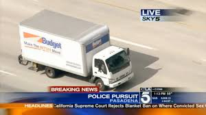 100 Budget Truck Rental Los Angeles Police Chase March 02 2015 2 YouTube