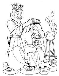 Esther Bible Coloring Pages Sketch Page