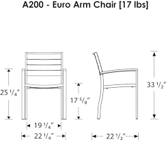 Dining Chair Seat Height Typical