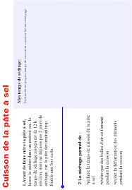 imprimer la recette de la pâte à sel page 12 tête à modeler